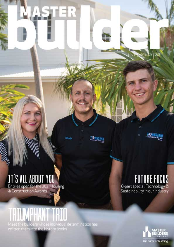 Master Builder Jan - Mar 2021